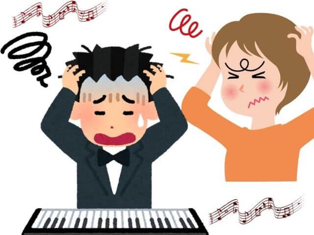 ピアノの共鳴音や雑音の原因は?直し方はどうやる?